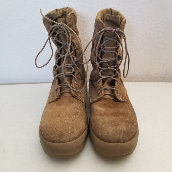 Military Issue Army Hot Weather Combat Boots 8 R